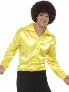 Männerhemd fürs Tanzlokal in Neongelb