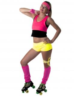 Damen-Mini-Shorts neongelb