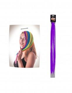 Clip-Haar-Strähne violett