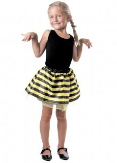 Tüllrock Biene für Kinder