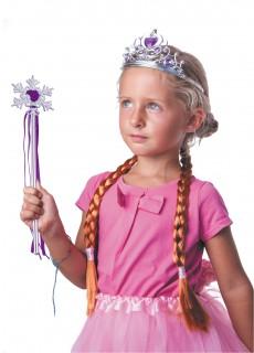 Schnee-Prinzessinnen Accessoires-Set für Mädchen