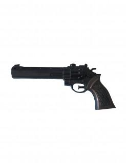 Wasser-Pistole Cowboy Scherzartikel schwarz