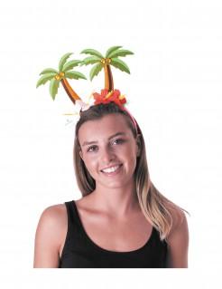 Palmen-Haarreif Hawaii bunt