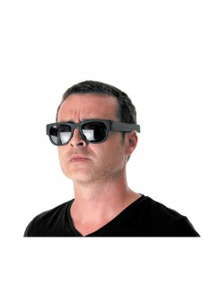 Erwachsenen Klappbrille schwarz