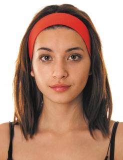 80er Jahre Stirnband rot