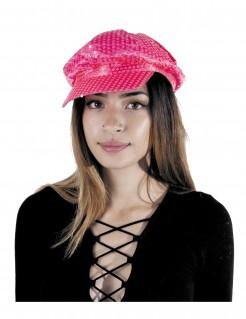 Schirmmütze für Erwachsene in Neonrosa
