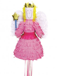 Süsse Fee Pinata Party-Gadget rosa 45cm