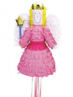 Süsse Fee Pinata Party-Gadget rosa 45cm