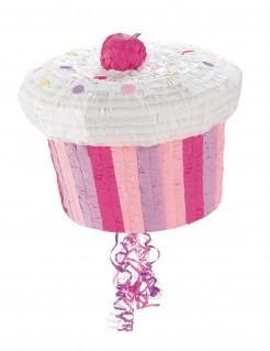 Cupcake Pinata Party-Gadget rosa 27cm