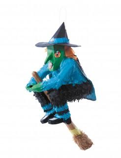 Hexen-Pinata Halloween-Spiel bunt 46x27cm