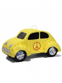Auto Pinata Party-Gadget gelb 46cm