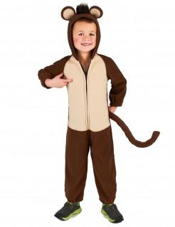 Affenverkleidung Tier-Kinderkostüm braun-beige