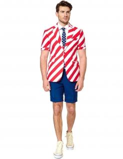 Opposuits™ Sommeranzug USA blau-weiss-rot