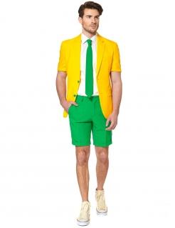 Opposuits™ Sommeranzug Brasilien gelb-grün