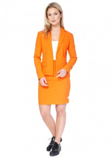 Opposuits™ Damenanzug Business-Suit orange