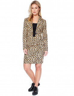 Damenkostüm Lady Jag Opposuits Animalprint