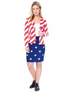 Opposuits™ Damenanzug USA blau-weiss-rot