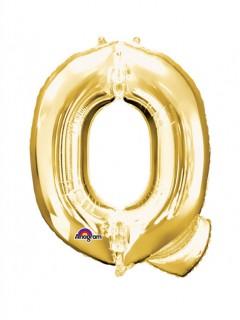 Party Dekoration Deluxe Aluminium Ballon Buchstabe Q 60x 81 cm