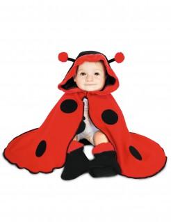 Marienkäfer-Babykostüm Tier rot-schwarz