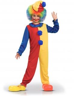 Clown-Zirkus-Kostüm für Kinder bunt