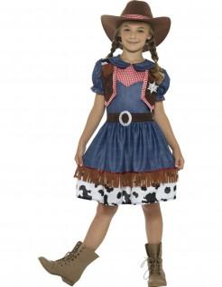 Texanisches Cowgirl-Mädchenkostüm