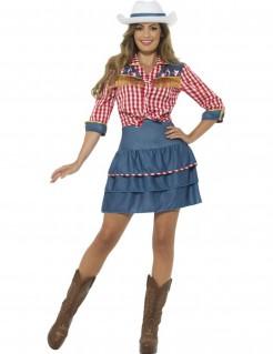 Cowgirl Damenkostüm
