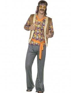 60er Jahre Hippie-Sänger Herrenkostüm