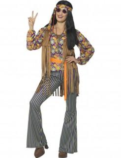 60er Jahre Hippie-Sängerin Damenkostüm