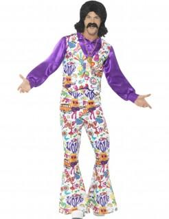 Cooles 60er Jahre Hippie-Kostüm Herren