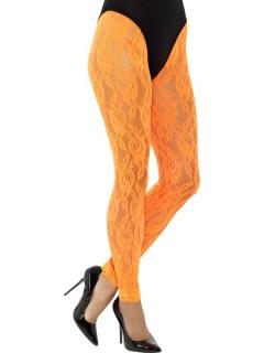Damen-Leggings Kostümaccessoire orange