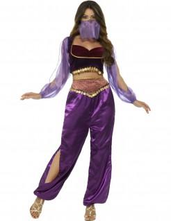 Arabische Prinzessin Damenkostüm violett