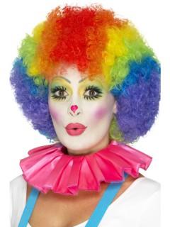Clown-Kragen rosa