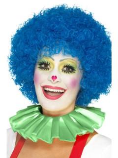 Clown-Kragen Kostümaccessoire grün