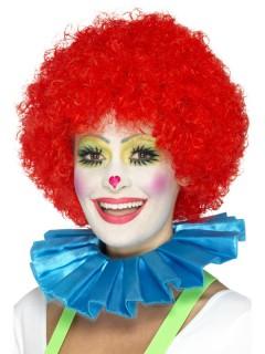 Clown-Kragen blau