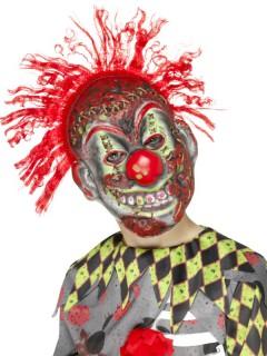 Clownskelett-Kindermaske