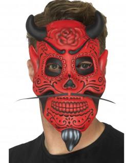 Dämonische Maske Dia de los muertos