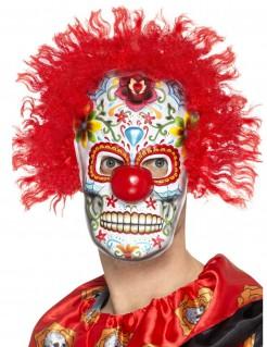 Tag der Toten Clownsmaske