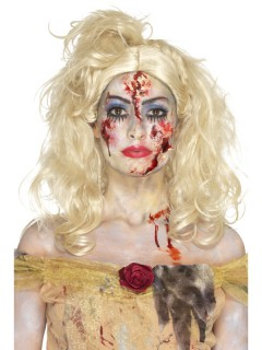 Zombieprinzessin-Schminkset Halloween-Make-up 5-teilig bunt