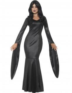 Unsterbliche Blutsaugerin Halloween-Damenkostüm schwarz