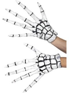 Skelett Latex-Handschuhe