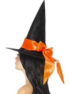 Hexenhut schwarz-orange