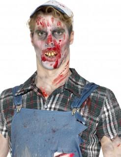 Falsche abgenutzte Zombiezähne Halloween-Accessoire gelb