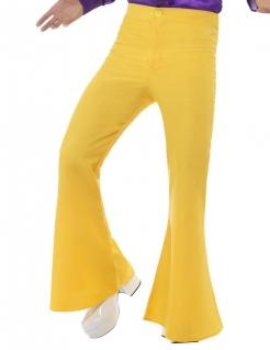 Discohose Herren gelb