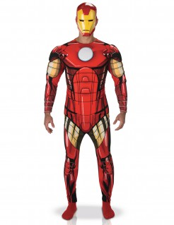 Iron Man Deluxe Kostüm Comic rot-gold