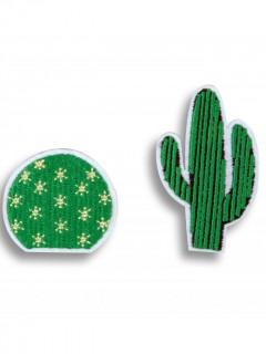 2 Kaktus Broschen