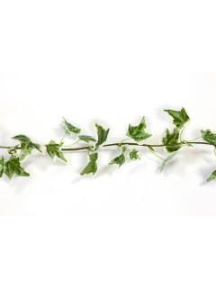 Efeu-Girlande Kunst-Efeu Dekoration grün-braun 1,4m
