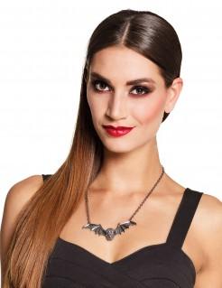 Fledermaus-Halskette für Erwachsene Halloween-Schmuck