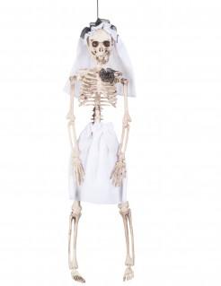 Skelett Braut Halloween-Hängedeko 40 cm