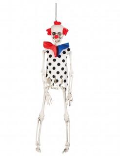 Skelett-Clown Halloween-Hängedeko 40 cm