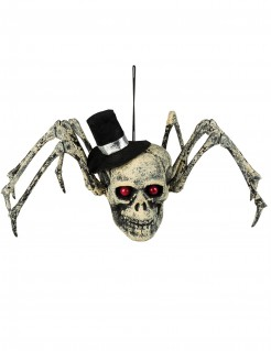 Skelett-Spinne Halloween-Deko 23 x 30 cm